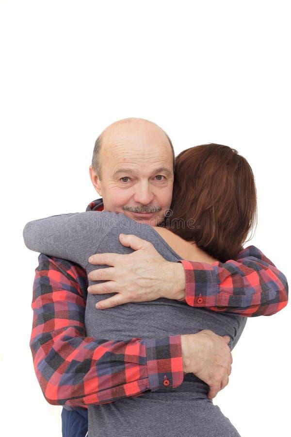Καλές σχέσεις μεταξύ των γονέων και των παιδιών στοκ φωτογραφία