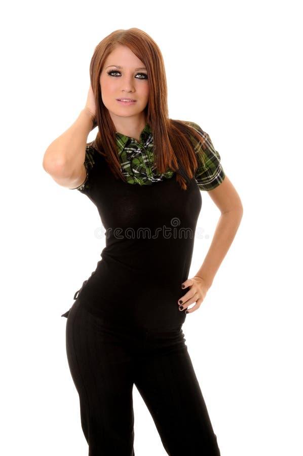 καλή γυναίκα brunette στοκ φωτογραφία με δικαίωμα ελεύθερης χρήσης