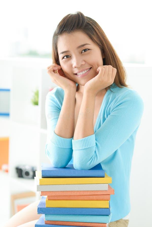 Καλή μαθήτρια στοκ φωτογραφίες με δικαίωμα ελεύθερης χρήσης