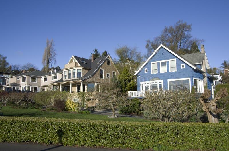 Καλή παλαιά γειτονιά στοκ εικόνα με δικαίωμα ελεύθερης χρήσης