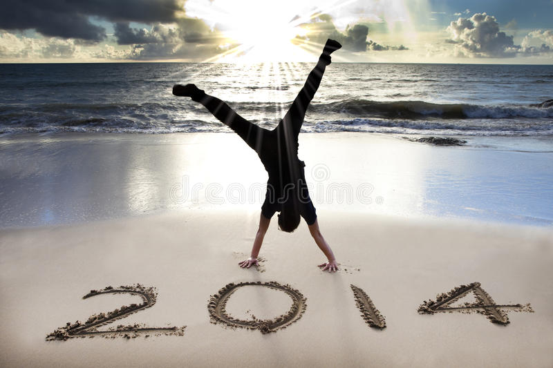 Καλή χρονιά 2014 στην παραλία