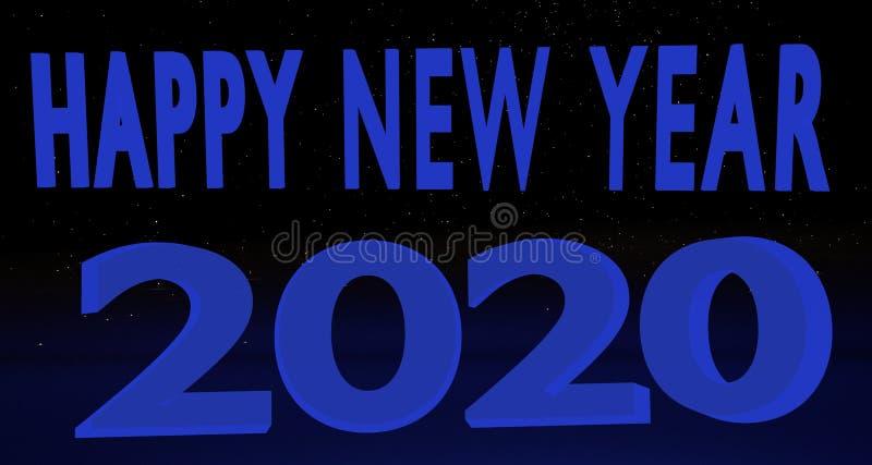Καλή χρονιά 2020 στοκ φωτογραφίες