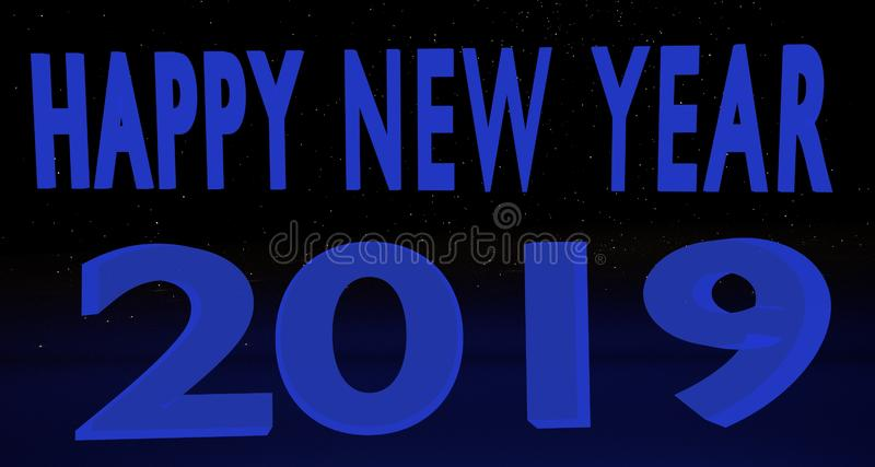 Καλή χρονιά 2019 στοκ εικόνες