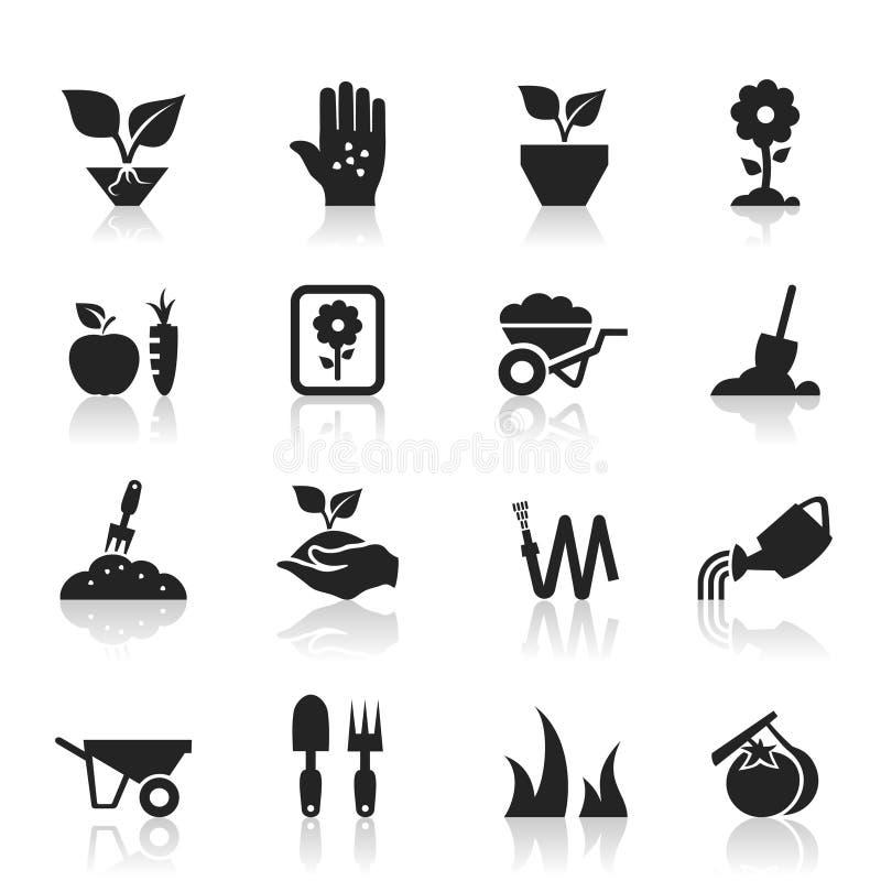 Καλλιεργήστε ένα εικονίδιο απεικόνιση αποθεμάτων