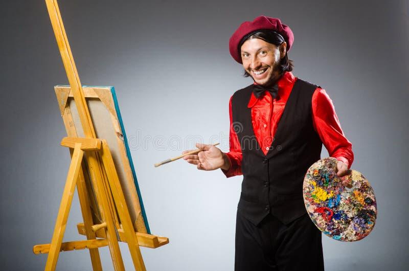 Download Καλλιτέχνης ατόμων στην έννοια τέχνης Στοκ Εικόνα - εικόνα από άτομο, καλλιτεχνικό: 62704361
