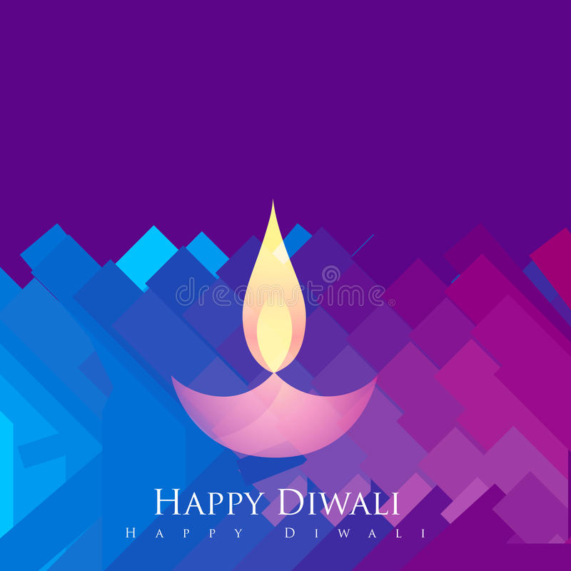 Καλλιτεχνικό υπόβαθρο diwali απεικόνιση αποθεμάτων