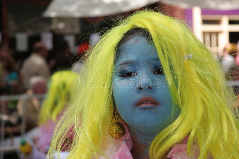 Καλοκαίρι καρναβάλι Ρότερνταμ στοκ φωτογραφία