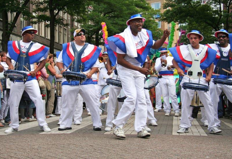 Καλοκαίρι καρναβάλι Ρότερνταμ στοκ εικόνες