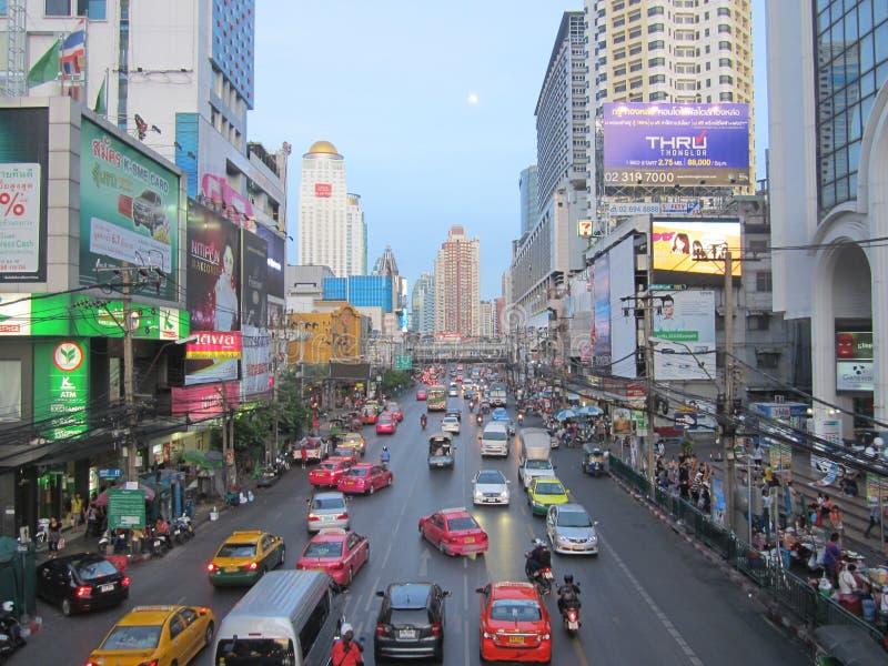 Καλοκαίρι 2013 πόλεων της Μπανγκόκ στοκ φωτογραφίες με δικαίωμα ελεύθερης χρήσης