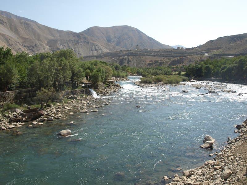 Καλοκαίρι στην κοιλάδα Panjshir, Αφγανιστάν στοκ φωτογραφίες