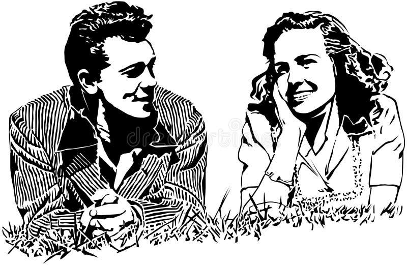 Καλοκαίρι της αγάπης ελεύθερη απεικόνιση δικαιώματος