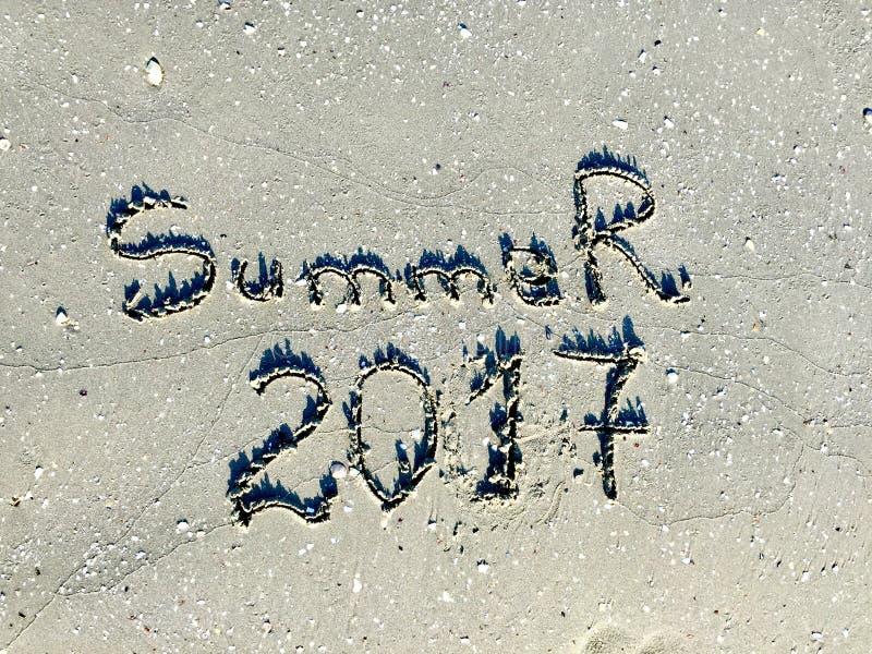 Καλοκαίρι 2017 στοκ εικόνες