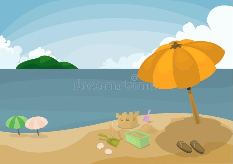 Καλοκαιρινές διακοπές στοκ εικόνες