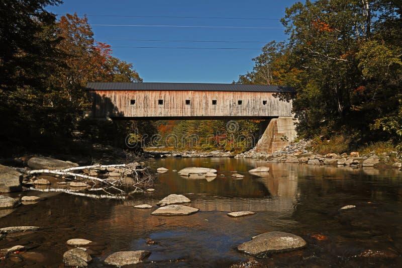 Καλυμμένη γέφυρα Βερμόντ στοκ φωτογραφίες με δικαίωμα ελεύθερης χρήσης