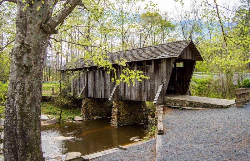 Καλυμμένη γέφυρα στοκ φωτογραφίες με δικαίωμα ελεύθερης χρήσης
