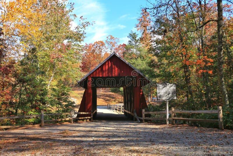 Καλυμμένη γέφυρα Campbell στοκ εικόνα με δικαίωμα ελεύθερης χρήσης