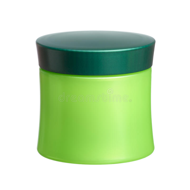 Καλλυντικό βάζο στοκ φωτογραφία με δικαίωμα ελεύθερης χρήσης