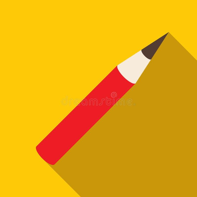 Καλλυντικό εικονίδιο μολυβιών, επίπεδο ύφος ελεύθερη απεικόνιση δικαιώματος