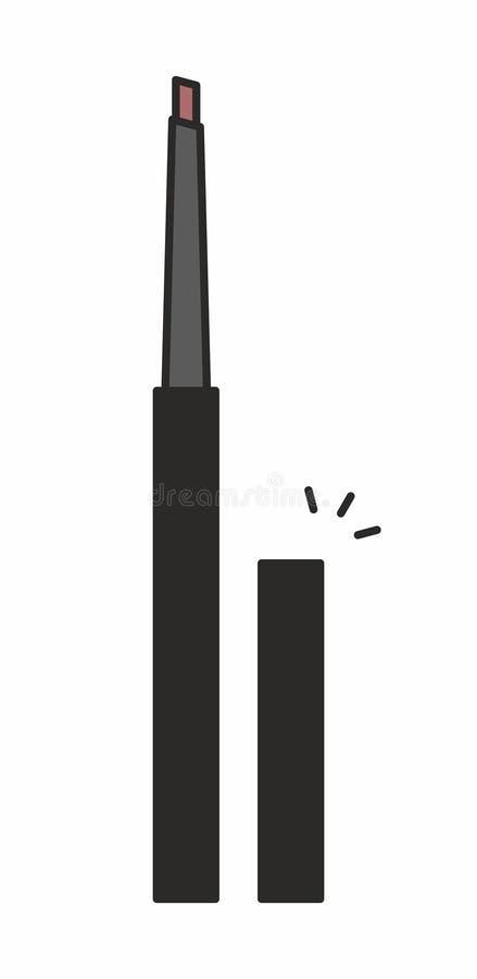 Καλλυντικό εικονίδιο μολυβιών Makeup απεικόνιση αποθεμάτων