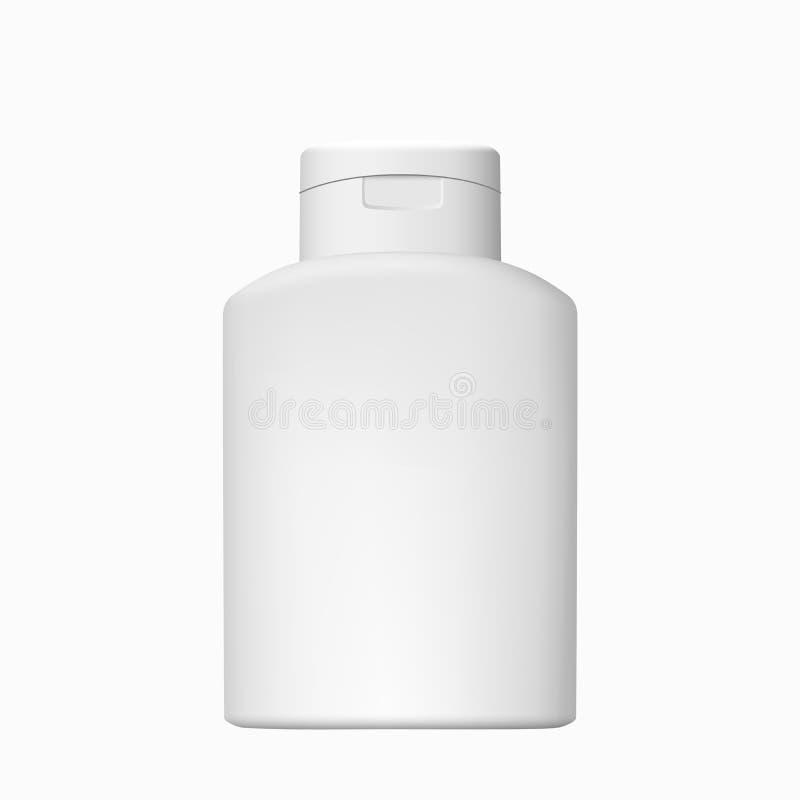 Καλλυντικό διάνυσμα μπουκαλιών που απομονώνεται στοκ φωτογραφία με δικαίωμα ελεύθερης χρήσης