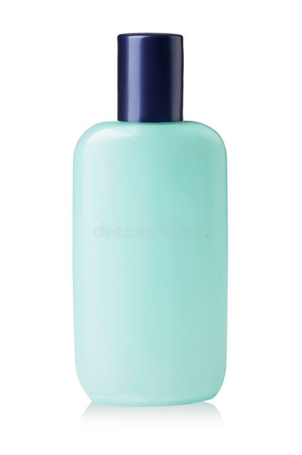 Καλλυντικό μπουκάλι λοσιόν στοκ εικόνες με δικαίωμα ελεύθερης χρήσης