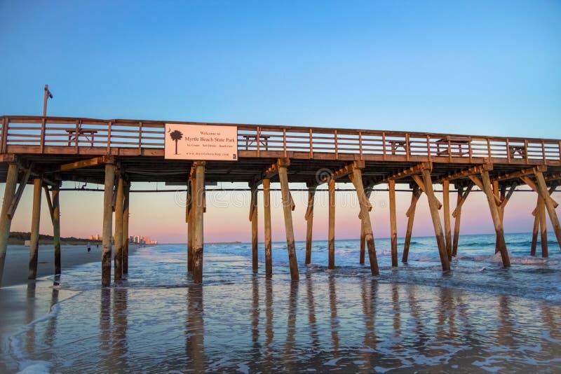 Καλωσορίστε στο Myrtle Beach στοκ εικόνα με δικαίωμα ελεύθερης χρήσης