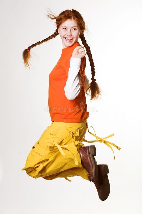 καλός redhead κοριτσιών στοκ φωτογραφίες