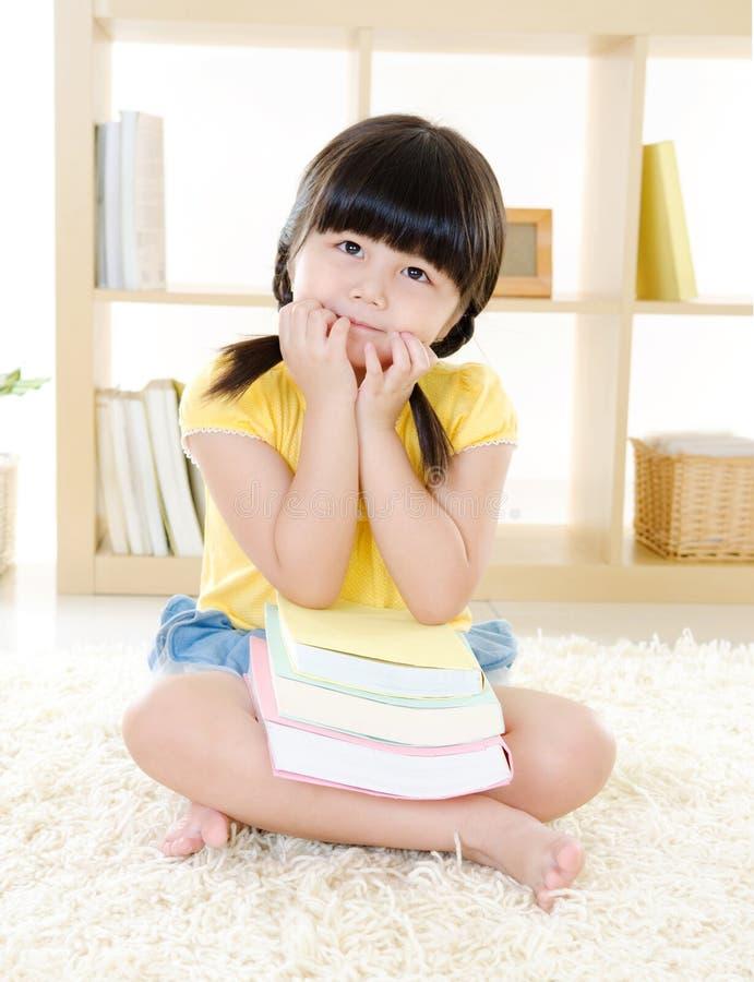 Καλό ασιατικό κορίτσι στοκ φωτογραφία