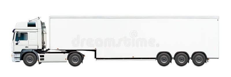 καλό λευκό truck αρχείων διαφημίσεων στοκ φωτογραφία με δικαίωμα ελεύθερης χρήσης