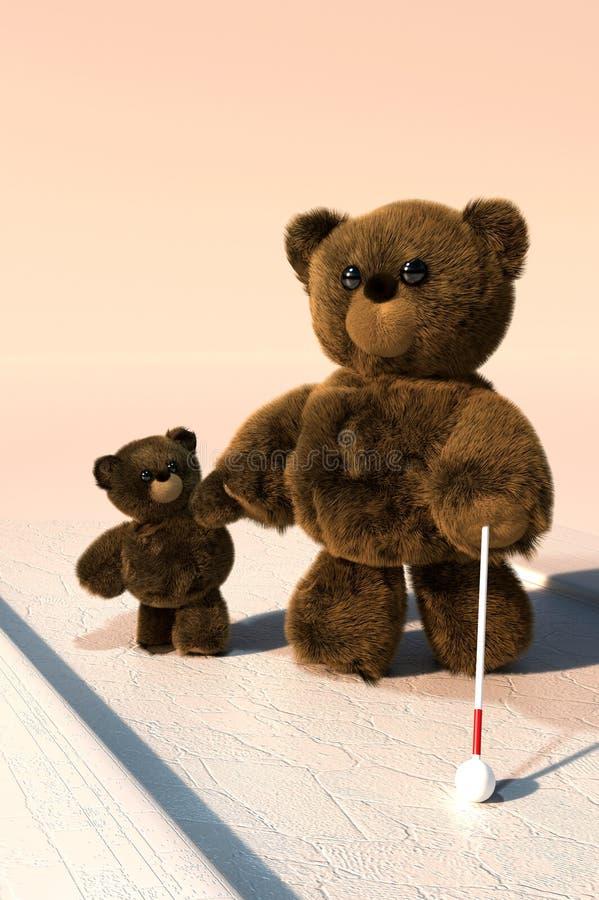 Καλό Teddy απεικόνιση αποθεμάτων
