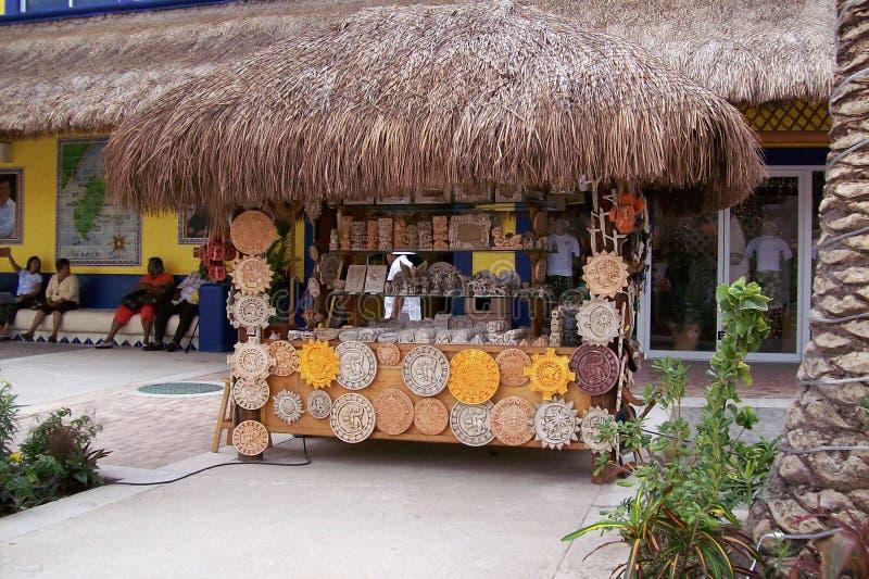 Καλύβα αγορών στάσεων της Τζαμάικας στοκ φωτογραφία με δικαίωμα ελεύθερης χρήσης