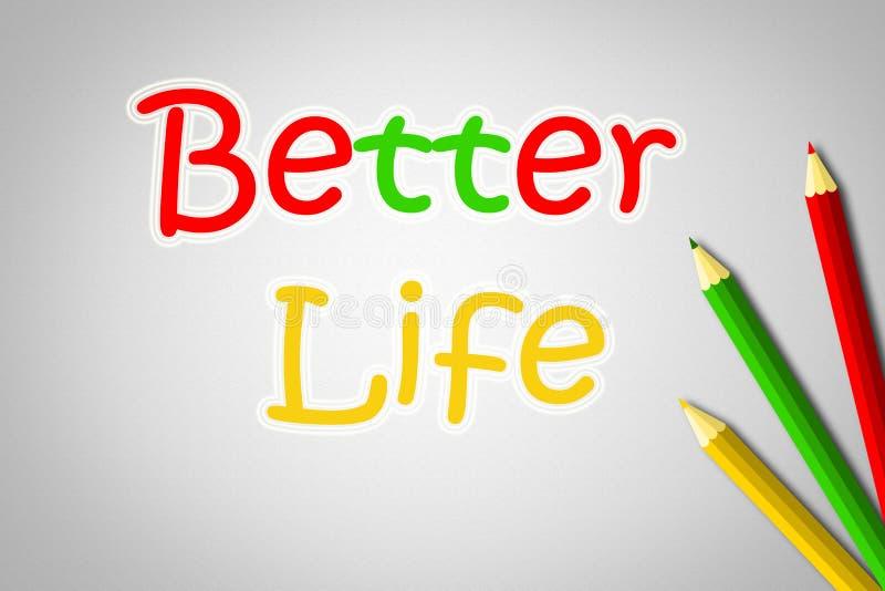 Καλύτερη έννοια ζωής στοκ φωτογραφία με δικαίωμα ελεύθερης χρήσης