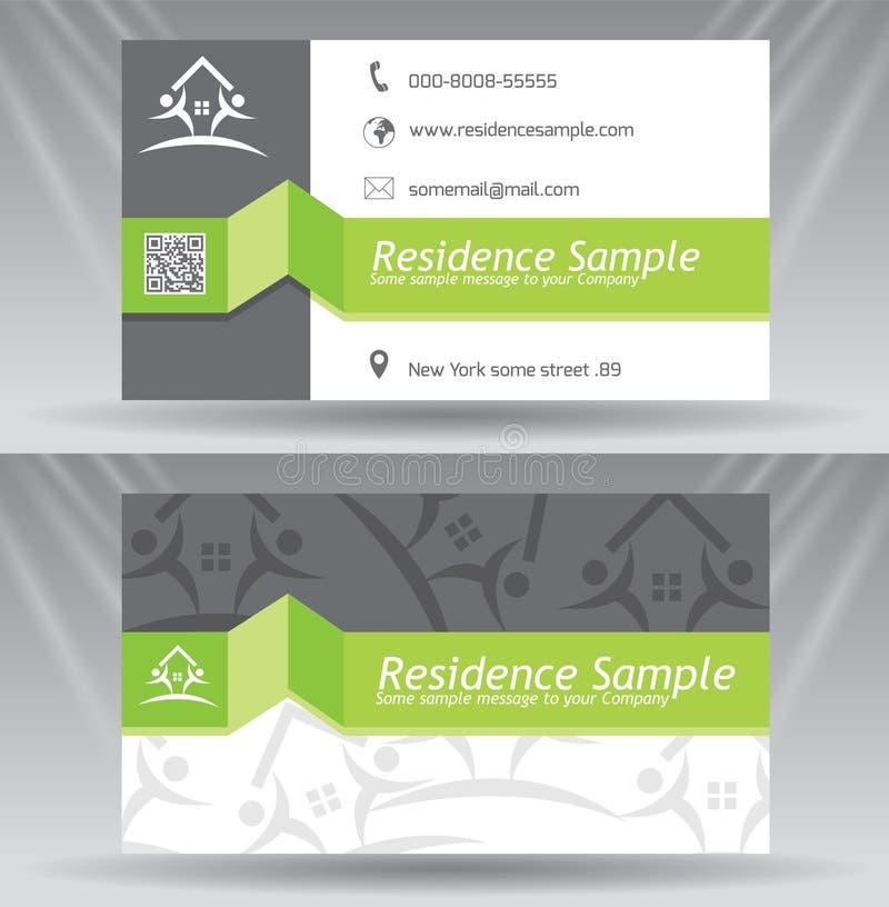 καλύτερο επαγγελματικών καρτών αρχικό διάνυσμα προτύπων τυπωμένων υλών έτοιμο ελεύθερη απεικόνιση δικαιώματος
