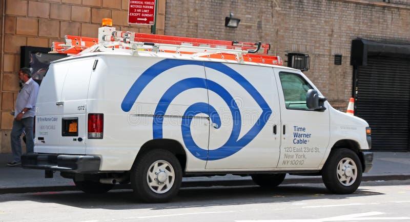 Καλώδιο της Time Warner στοκ φωτογραφίες