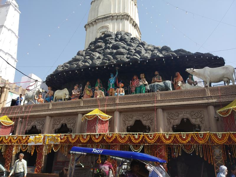 Κα Girraj ji mandir στοκ εικόνες