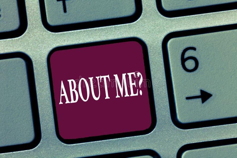 Κείμενο γραψίματος λέξης ΓΙΑ ΜΕ ερώτηση Η επιχειρησιακή έννοια για την ερώτηση που αφήνει άλλη παρουσίαση σας ξέρει στοκ φωτογραφίες με δικαίωμα ελεύθερης χρήσης