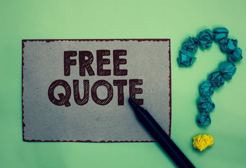 Κείμενο γραψίματος λέξης ελεύθερο απόσπασμα Η επιχειρησιακή έννοια για τη συνοπτική φράση Α που είναι έχει συνήθως το impotant μή στοκ εικόνες