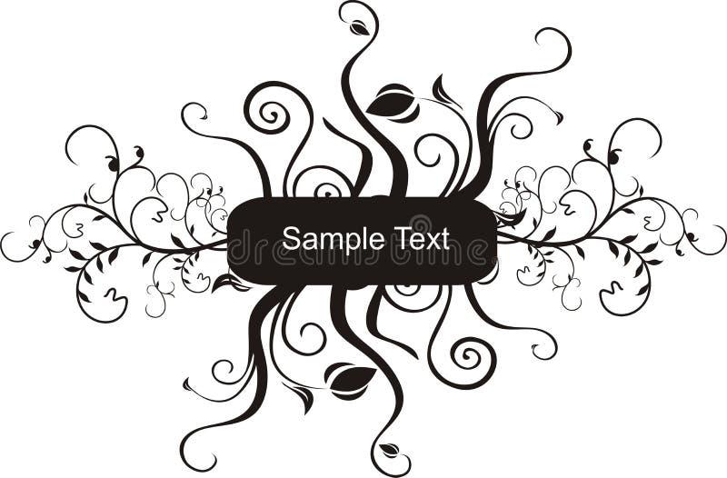 κείμενο δείγμα διανυσματική απεικόνιση