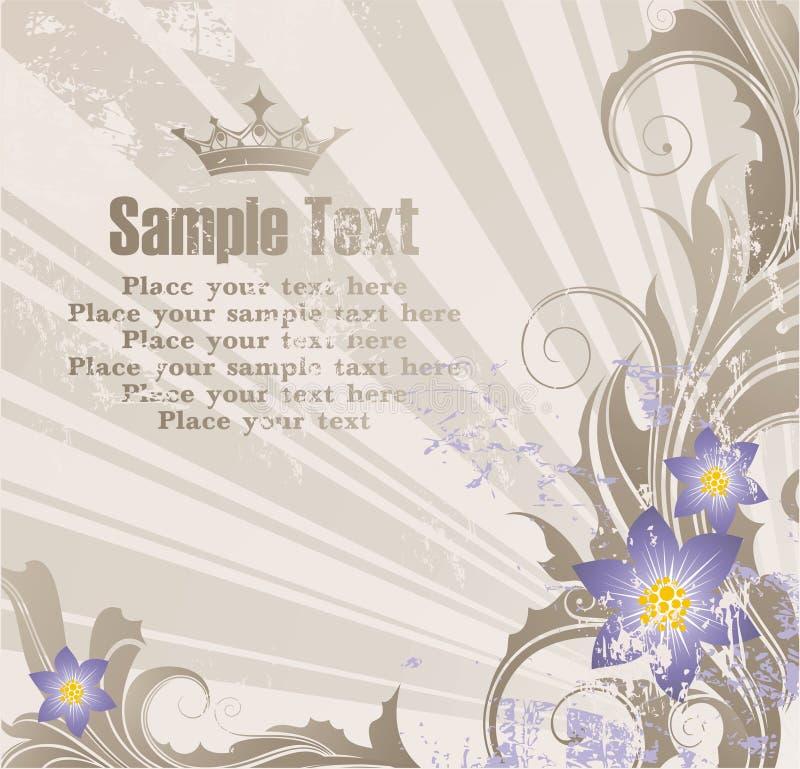 κείμενο εμβλημάτων ανασκόπησής σας διανυσματική απεικόνιση