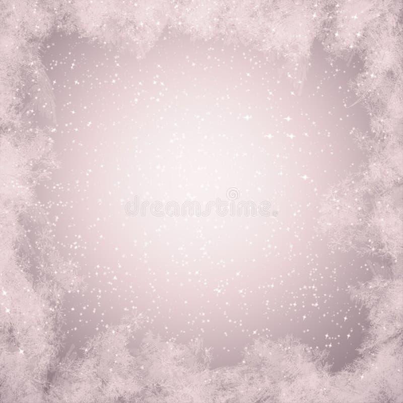 Κείμενο παγετού χειμερινού χιονιού γραφικής παράστασης χειμερινού υποβάθρου projectsspace στοκ εικόνα με δικαίωμα ελεύθερης χρήσης