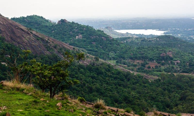 Κεκλιμένοι λόφοι στοκ εικόνα