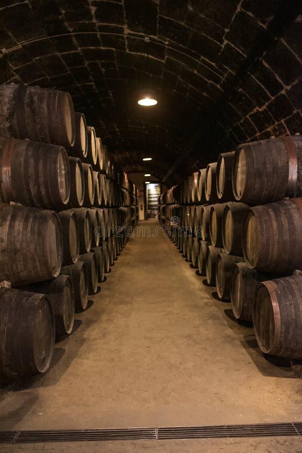 Κελάρια κρασιού του Πόρτο στο Πόρτο Πορτογαλία στοκ φωτογραφία με δικαίωμα ελεύθερης χρήσης