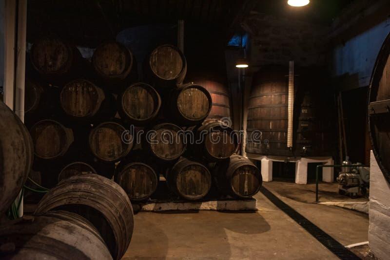 Κελάρια κρασιού του Πόρτο στο Πόρτο Πορτογαλία στοκ εικόνες με δικαίωμα ελεύθερης χρήσης