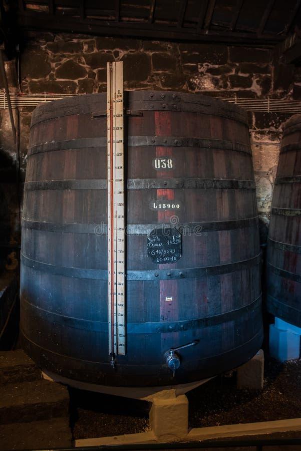 Κελάρια κρασιού του Πόρτο στο Πόρτο Πορτογαλία στοκ εικόνες