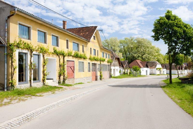 κελάρια κρασιού, Jetzelsdorf, χαμηλότερη Αυστρία, Αυστρία στοκ εικόνες με δικαίωμα ελεύθερης χρήσης