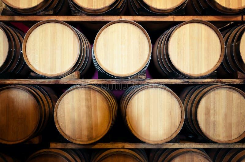 Κελάρι κρασιού Hisoric στην Ιταλία στοκ εικόνες