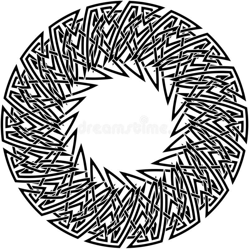 κελτική καλημάνα 29 διανυσματική απεικόνιση