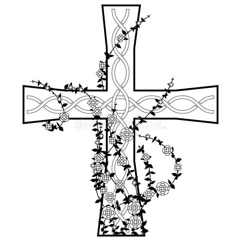 κελτικός σταυρός απεικόνιση αποθεμάτων