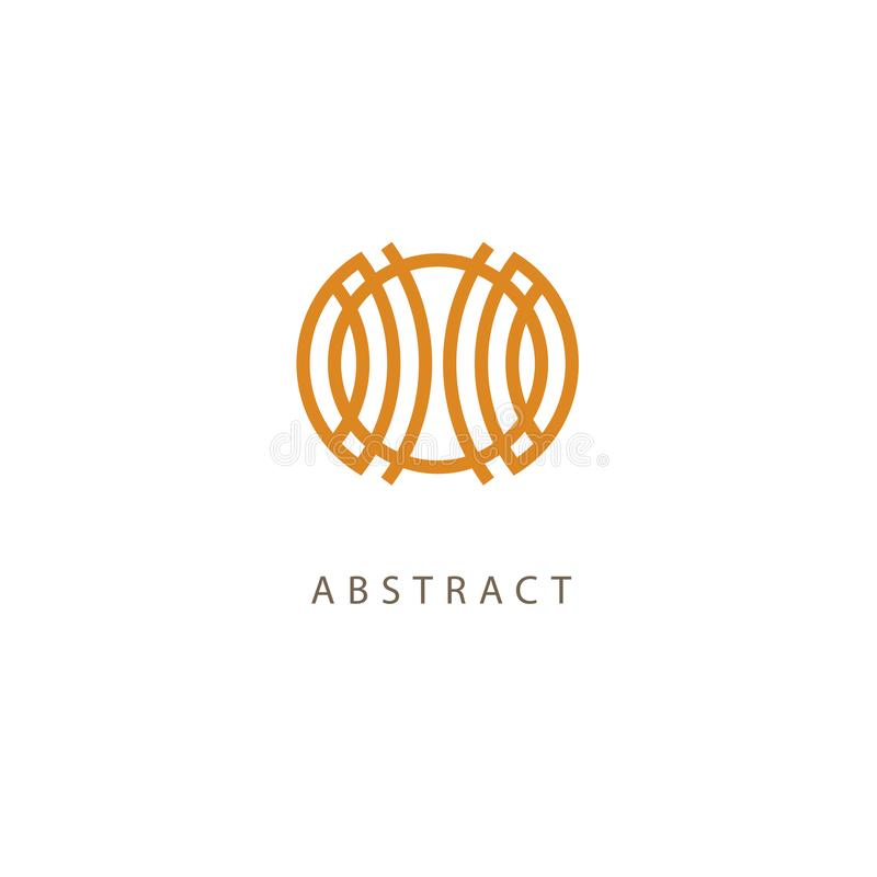 Κελτικό διάνυσμα κόμβων Διακοσμητικό σύμβολο δερματοστιξιών Αναδρομικό έμβλημα κύκλων πολυτέλειας Παραδοσιακό σκωτσέζικο διανυσμα διανυσματική απεικόνιση