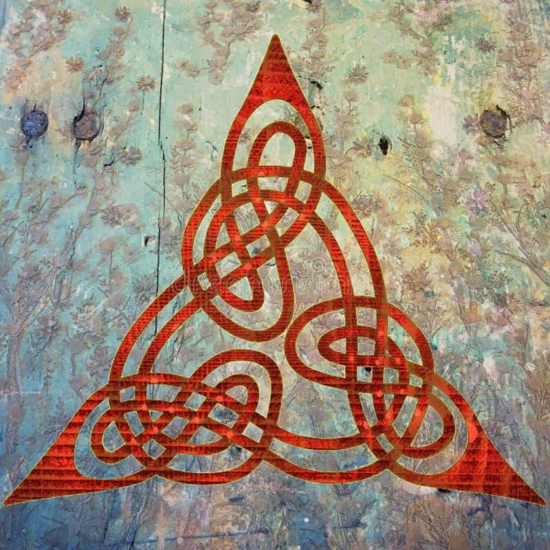 κελτικό σύμβολο στοκ φωτογραφία με δικαίωμα ελεύθερης χρήσης